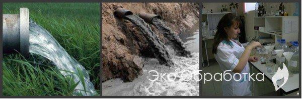 анализ сточных вод в Москве и МО