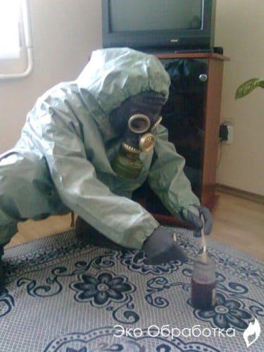Проведение очистки помещений
