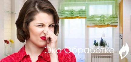 неприятный запах в квартире? заказывайте дезодорация москве