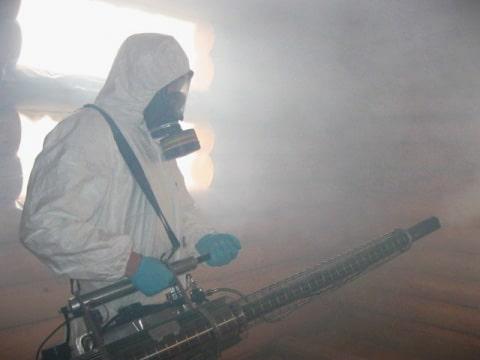 генераторы горячего тумана для борьбы с вредителями