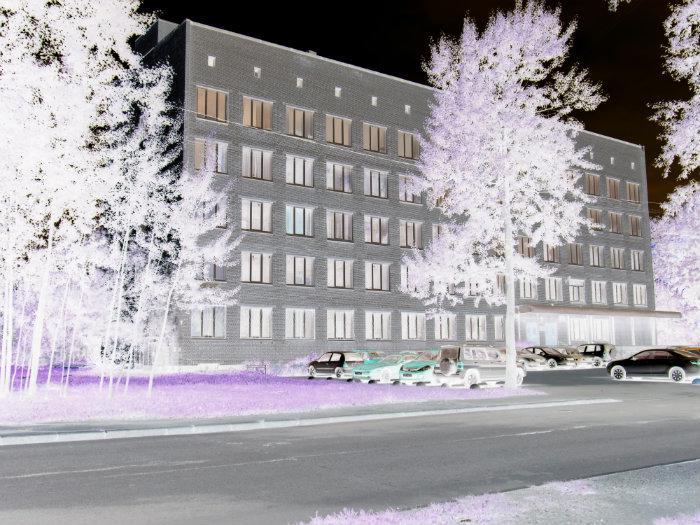 здание санэпидемстанции по округу Москва