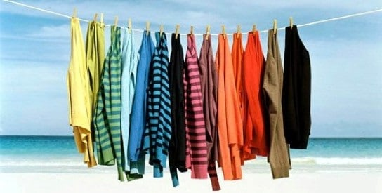 проветривание одежды